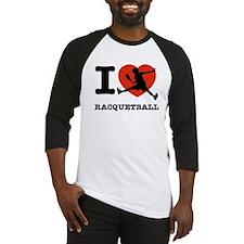 I love Racquetball Baseball Jersey