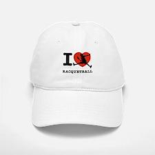 I love Racquetball Baseball Baseball Cap