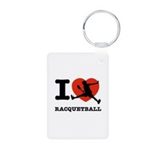 I love Racquetball Keychains