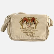 Comedy of Errors Quote Messenger Bag