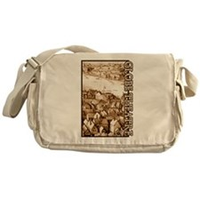 The Globe Theatre Messenger Bag