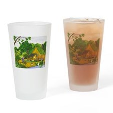 Artwork Designed Drinking Glass