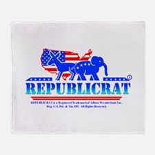 Republicrat Logowear Throw Blanket