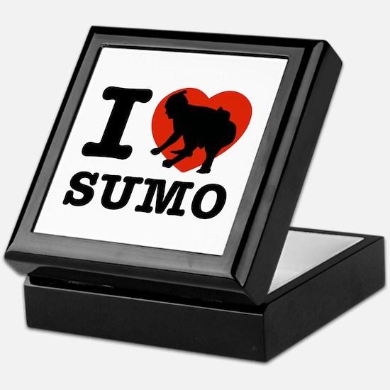 I love Sumo Keepsake Box