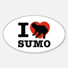 I love Sumo Decal