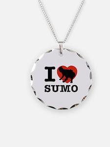 I love Sumo Necklace
