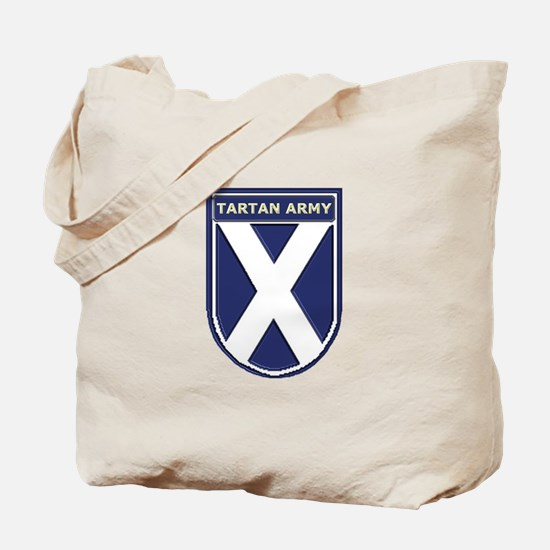 Stand Together Tartan Army Tote Bag