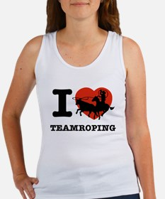 I love Team roping Women's Tank Top