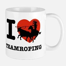 I love Team roping Mug