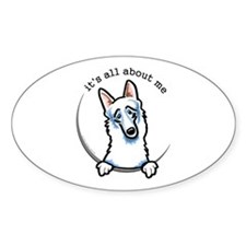 White German Shepherd IAAM Decal