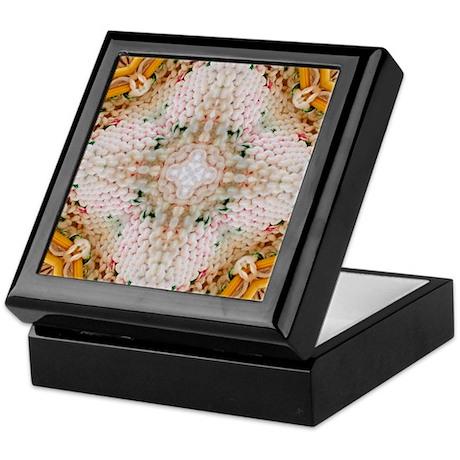 Kaleidoscope Pattern Yarn Keepsake Box