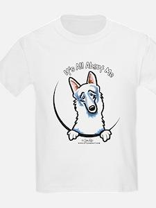 White German Shepherd IAAM T-Shirt
