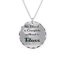 Upright Bass 2 Necklace
