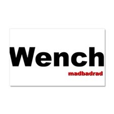 Wench Car Magnet 20 x 12
