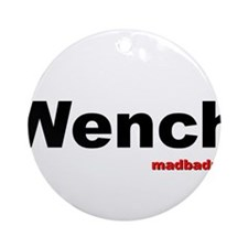 Wench Ornament (Round)