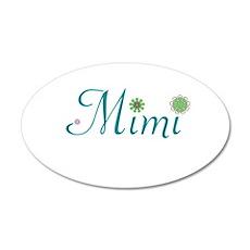 Spring Mimi 22x14 Oval Wall Peel