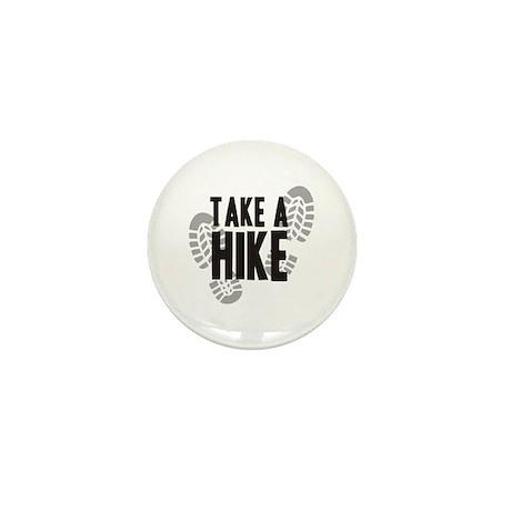 Take a Hike Mini Button
