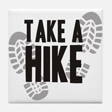 Take a Hike Tile Coaster
