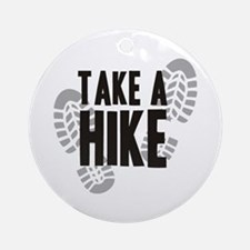 Take a Hike Ornament (Round)