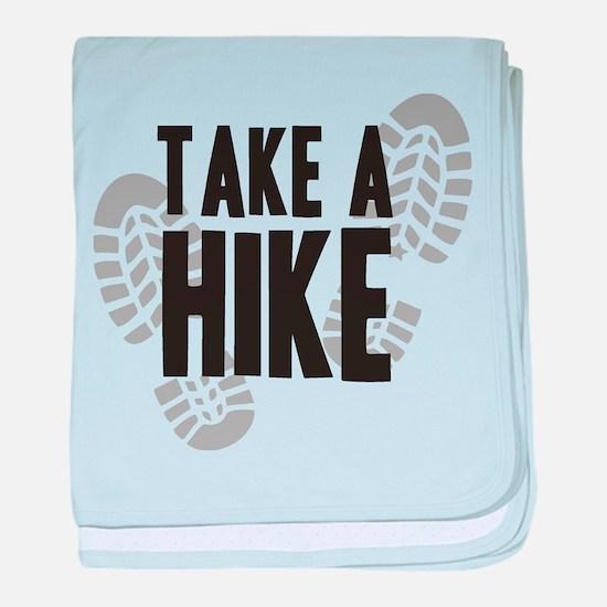 Take a Hike baby blanket