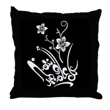 Eid flower 01 Throw Pillow