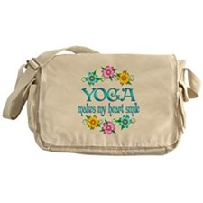 Yoga Smiles Messenger Bag