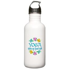Yoga Smiles Sports Water Bottle