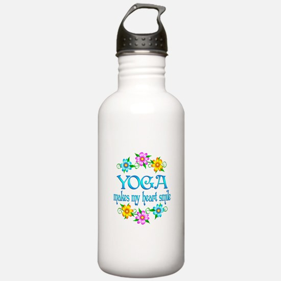 Yoga Smiles Sports Water Bottle