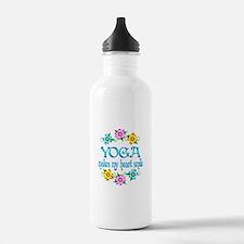 Yoga Smiles Water Bottle