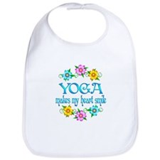 Yoga Smiles Bib
