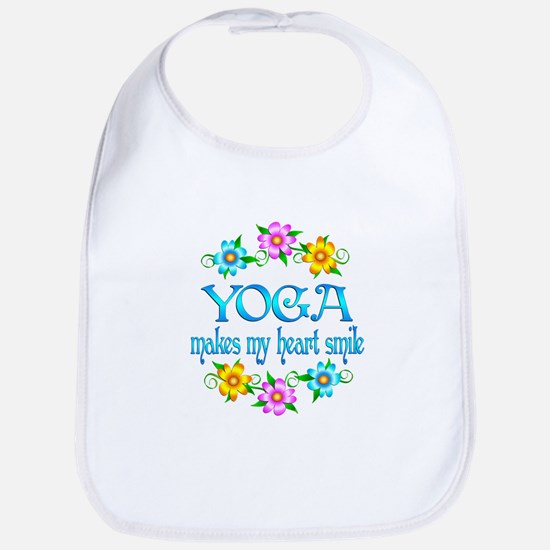 Yoga Smiles Bib