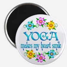 "Yoga Smiles 2.25"" Magnet (100 pack)"