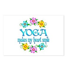 Yoga Smiles Postcards (Package of 8)