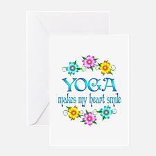 Yoga Smiles Greeting Card