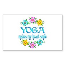 Yoga Smiles Decal