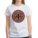 Red and Gold Goddess Pentacle Women's T-Shirt