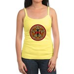 Red and Gold Goddess Pentacle Jr. Spaghetti Tank