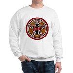 Red and Gold Goddess Pentacle Sweatshirt
