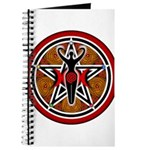 Red and Gold Goddess Pentacle Journal