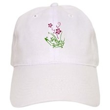 Happy Eid flower Baseball Cap