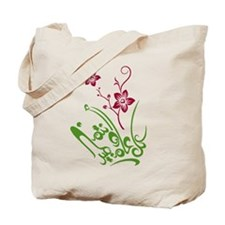 Happy Eid flower Tote Bag