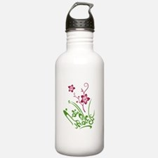Happy Eid flower Water Bottle