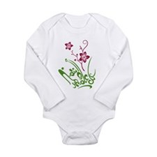 Happy Eid flower Onesie Romper Suit
