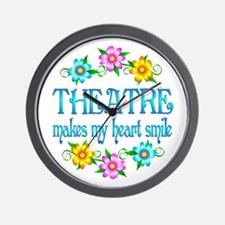 Theatre Smiles Wall Clock