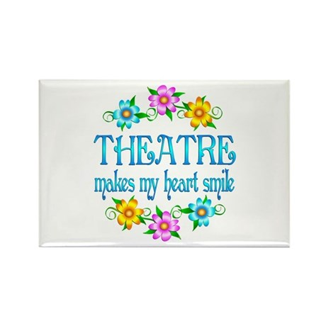 Theatre Smiles Rectangle Magnet (10 pack)