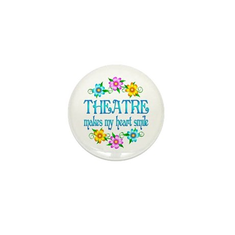 Theatre Smiles Mini Button (10 pack)