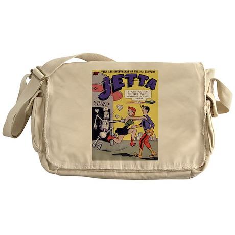 $34.99 Jetta of the 21st Century Messenger Bag