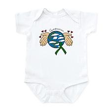 Organ Donation Globe Infant Bodysuit