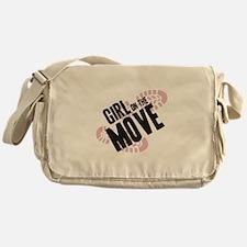 Girl on the Move Messenger Bag