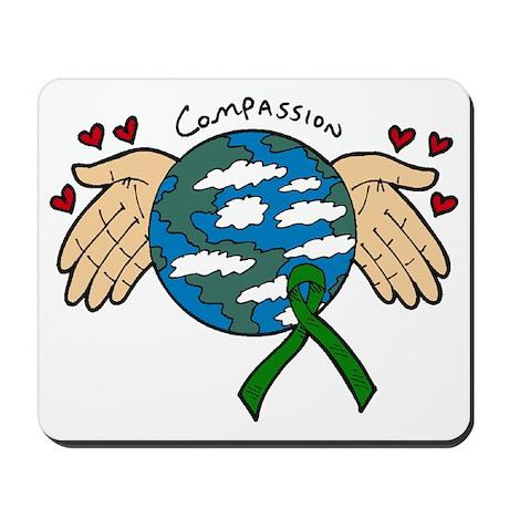 Organ Donation Globe Mousepad